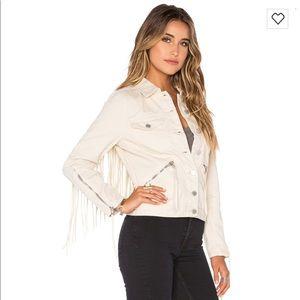 Blank NYC Fringe Jacket
