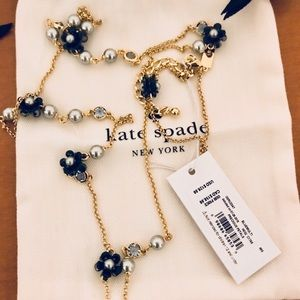 Long Kate Spade necklace
