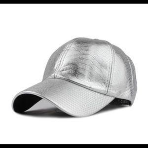 UNISEX PU LEATHER CAP