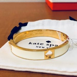 Kate Spade cream bangle
