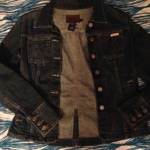 Calvin Klein denim jacket size m.