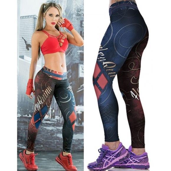 709670eb2 Pants | Harley Quinn Wild Card Super Hero | Poshmark