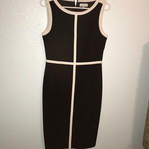 GUC Black & White Calvin Klein Business Dress
