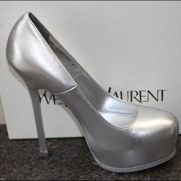 Yves Saint Laurent Shoes - YSL PLATFORM TRIBTOO PUMPS