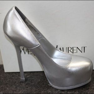 YSL PLATFORM TRIBTOO PUMPS