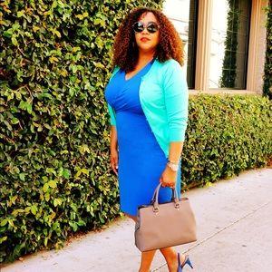 Ann Taylor 3/4 Sleeve Dress