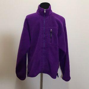 Vintage Patagonia Men's fleece zip-up jacket