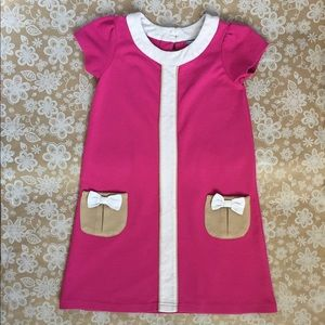 Hartstrings girls shift-style dress with pockets