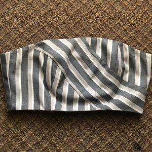 ASOS Multi-Striped Bandeau Top