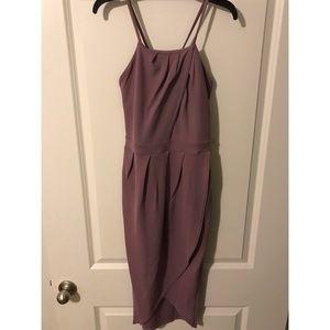 Boohoo cross back dress