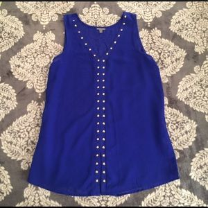 Beautiful Cobalt blue tunic