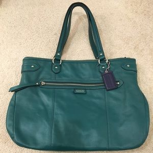 Coach Authentic Leather Emma Tote Bag - Like New!