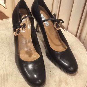 ISAAC isaac Mizrahi black pump shoes Sz 10M