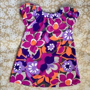 Carter's Corduroy floral print girls dress 4T