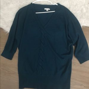 Be neck sweater 3/4 sleeve like new size xl