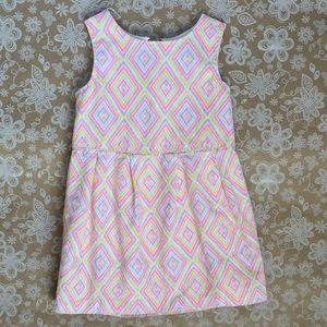 Genuine Kids by OshKosh Geometric pattern dress