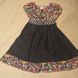 LELE Vintage Floral Dress