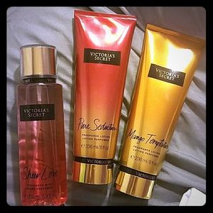 Victoria secret lotions and spray