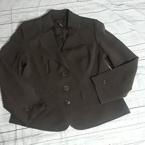 Lane Bryant dark brown blazer sz 14
