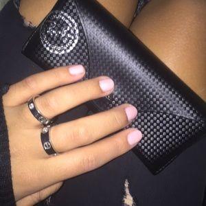 Ray Bans- Gold Pink Lenses