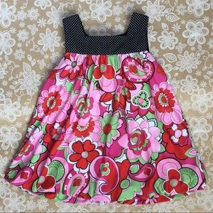 Bonnie Baby sweet girls tank dress size 18mo