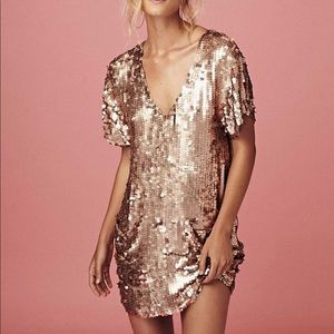 YFB Revolve Party Sequin Dress