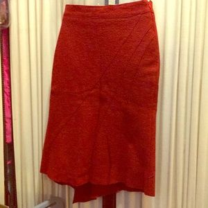 Perfect office outfit for season. Red skirt xs