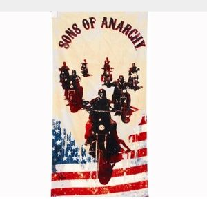 Robe Factory Sons of Anarchy 60 x 30 Towel
