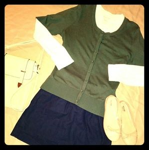 Merona Super Soft Green Cardigan