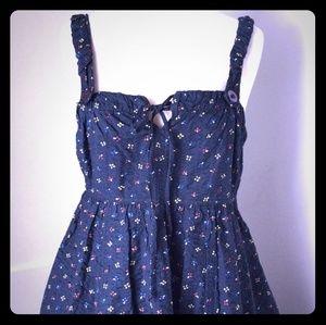 Marc by Marc Jacobs blue cotton vintage-like dress