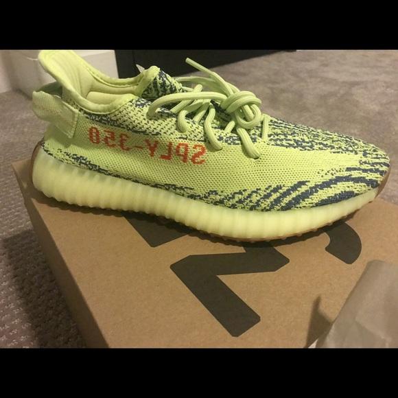"ac8e52b13dc Adidas Yeezy Boost 350 V2 ""Semi Frozen Yellow"""