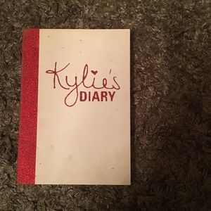 Valentine's Day Kylie's diary Limited edition