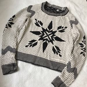 Urban Outfitters Nordic Snowflake  Sweater