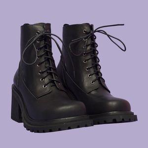 NIB UNIF Commando Boots Size 8