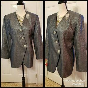 Vintage Silver Blazer