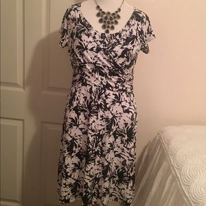 Black and white CHICO'S dress. Size 12