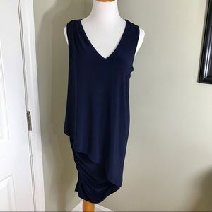 🦃 Last Tango Sleeveless Asymmetrical Dress