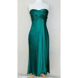 Banana Republic Formal Green Dress