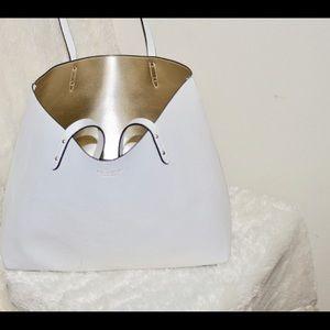 White Victoria secret purse