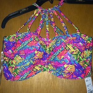 Plus size bikini top