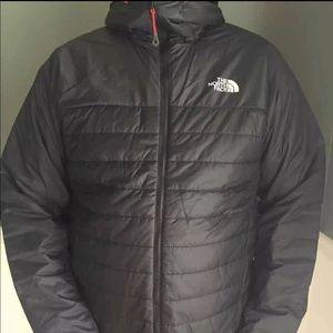 Men's new-with-tag XL black North Face coat