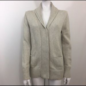 J Crew M Factory Lighthouse Cardigan Knit Sweater