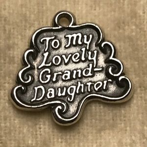 James Avery retired Grand-Daughter Charm!