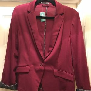 NWT Maurice's career blazer size large