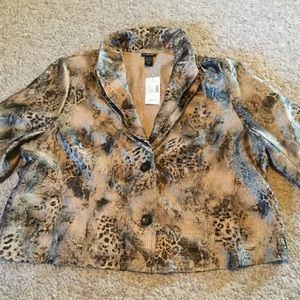 NWT Lane Bryant size 22-24W jacket  MSRP $89