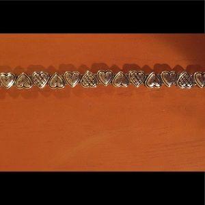 Brighton Heart Bracelet ~ Patterned