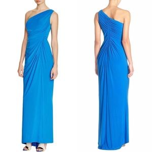 Adrianna Papell Draped Jersey Gown NWT 12