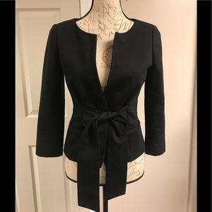❗️BOGO❗️Theory Blazer with front Tie