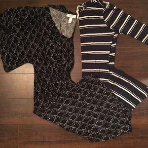 Set of maternity dresses