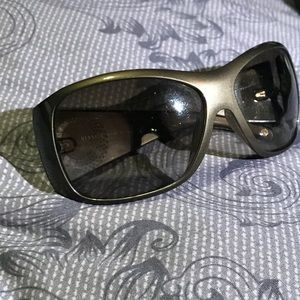 Authentic Versace sunglasses with bling logi
